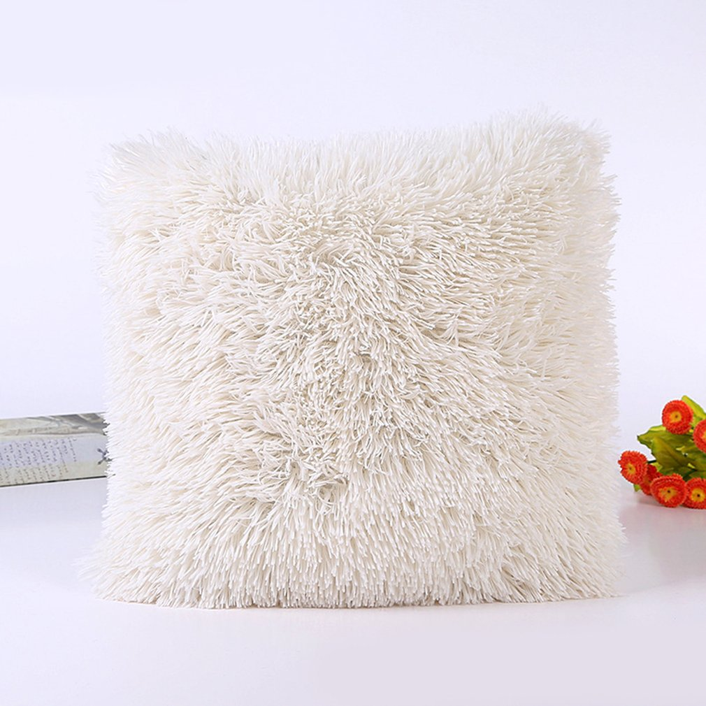 Plush Pillow Home Pillowcase Jewelry Custom Processing Fabric Pillowcase