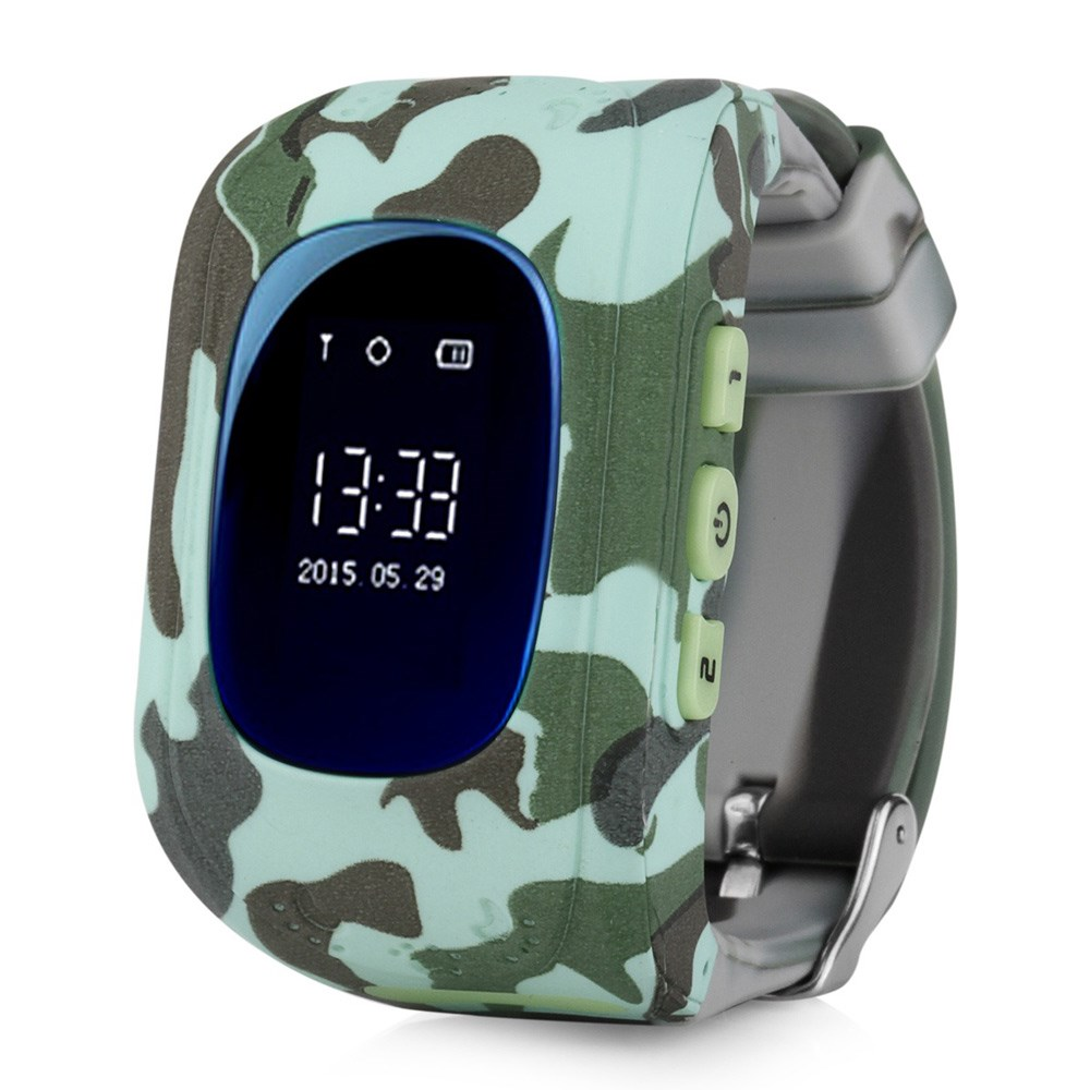 Kids Smart Watch With GPS CARCAM Q50 Urban Camo