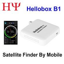 HELLOBOX B1 Bluetooth спутниковый локатор, с приложением Android для спутникового ТВ приемника, спутниковый измеритель satlink ws 6933 лучше