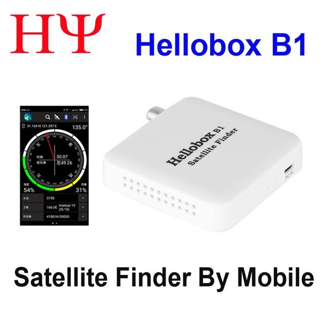 Hellobox B1 Bluetooth Satelliet Finder Met Android Systeem App Voor Satelliet Tv Ontvanger Satelliet Meter Satlink Ws 6933 Beter