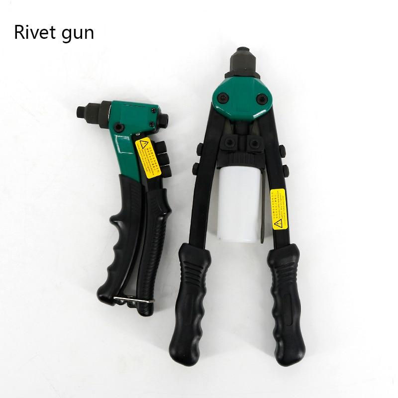 Industrial Grade Tool Labor-saving Rivet Gun Single Handle Rivet Gun 8 Inch 90501 Manual Riveter  Tools  Rivet Gun