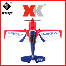 Orginal XK A430 Drone 2.4G 8CH 3D6G System Brushless Motor RC Airplane Compatible Futaba RTF Outdoor Toys Remote Control Plane a430 2 4g 5ch brushless motor 3d6g system rc airplane 430mm wingspan eps aircraft compatible futaba s fhss rtf for xk airplane