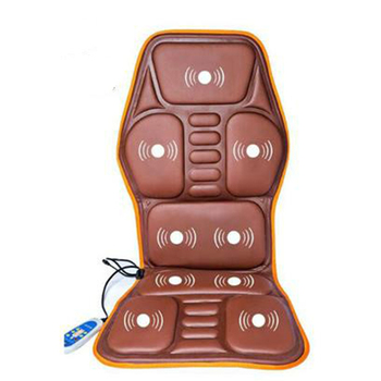 Electric Heating Back Massager Chair Cushion Vibrator Mat Car Home Office Back Neck Waist Health Care Pain Relief Seat