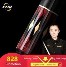 цена на PERI EX 2-Piece Pool Cue/Pool Stick Ergonomic Design Hardwood Canadian Maple Billiard Cue 19 Oz 12.75mm Hard Le Pro Tip China