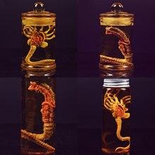 Anime Alien Predator Alien Larva Face Bug Action Figures Toys Chestburster Facehugger Culture Tank