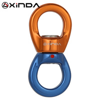 Vender XINDA, dispositivo de fijación de talón Universal profesional para escalada en roca, conector giratorio, anillo universal para Yoga de alta altitud