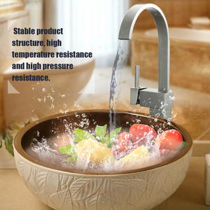 Basin Faucets Kitchen-Mixer Water-Tap Single-Hole Copper New European-Style