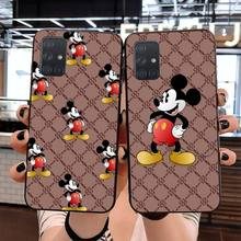 NBDRUICAI Luxury brand GG cartoon funny mouse Soft Phone Cas
