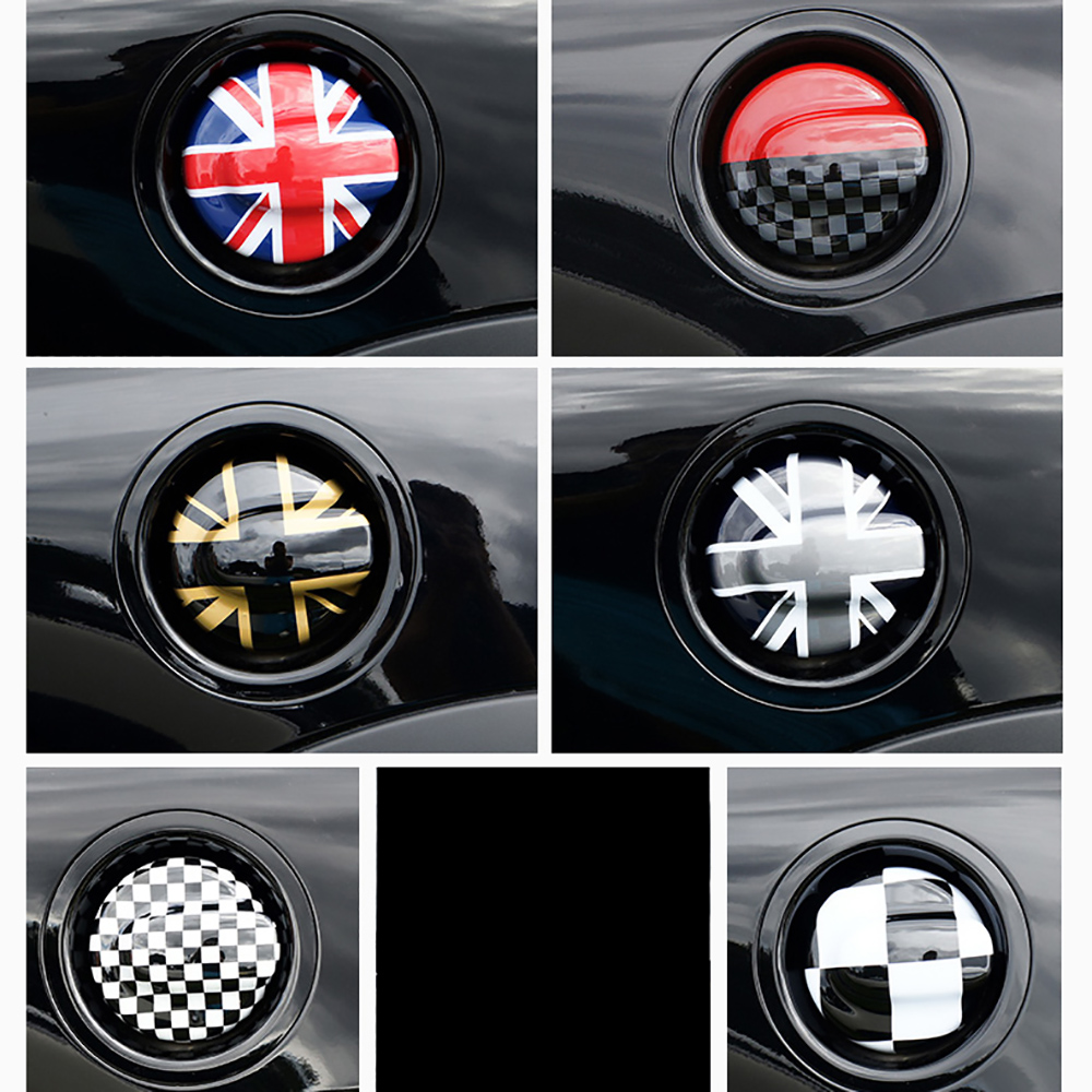 cheapest ABS carbon fiber Car Oil Fuel Tank Cap Decorative Shell Sticker Cover Decals For MINI Cooper S R55 Clubman R56 2 0T Car Styling