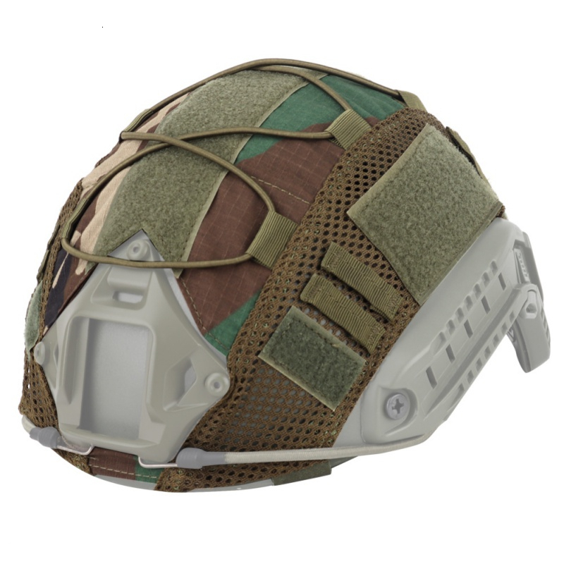 TACTIFANS Head Circumference 52-60cm Tactical FAST Helmet Cover Airsoft  Wargame Gear CS Sports Safety Paintball Accessories