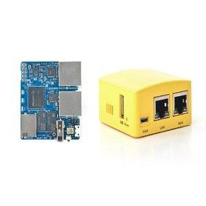 Smartfly FriendlyARM NanoPi R2S OpenWrt System RK3328 Mini Router Dual Gigabit Port 1GB of Large Memory