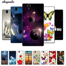 Original Colorful Mobile Phone Cases Cover for Sony Xperia T