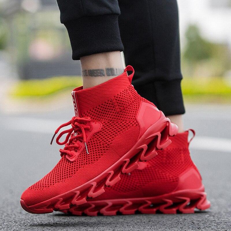 Maa mode respirant confortable marche chaussures chaussures décontractées léger chaussures plates hommes chaussures décontractées respirantes # CA1fr301