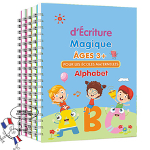 2021Newly French Magic Practice Copybook Free Children