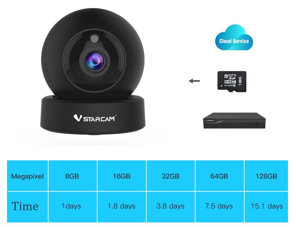 H878cee3fd24b4ea5b51aa6908464d659a Vstarcam 1080P 2MP Dome Mini IP Camera G43S Wireless Wifi Security Camera PTZ Cam IR Night Home Surveillance Camera Baby Monitor