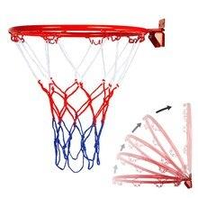 Металлический подвесной баскетбольный обруч 32 см, настенный, для улицы и дома, очень прочный, подвесной баскетбольный обруч для баскетбола