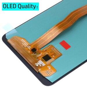 """Image 4 - Display LCD AMOLED Super da 6.0 """"per Samsung Galaxy A7 2018 A750 Display A750F con gruppo Touch Screen parte di ricambio"""