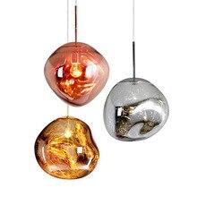 Подвесные светильники в скандинавском стиле из лавы, E26/E27, стеклянный шар, лампа для спальни, кухни, Подвесная лампа, современная, для гостиной, дома, бара, Подвесная лампа