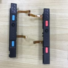 10pcs Plastic joycon Slider for Nintend Switch NS Joycon Controller Rail Assembly with flex cable and button(China)