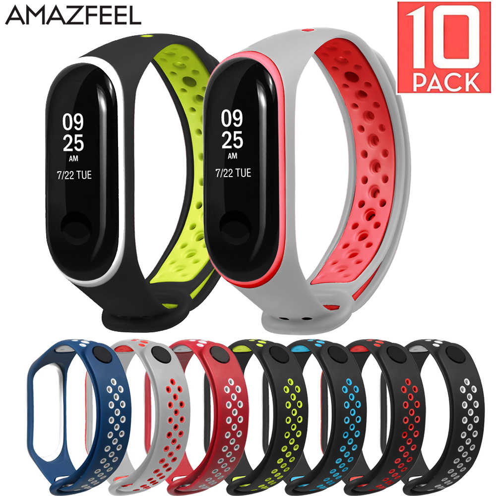 10pcs//lot Silicone Band Strap Bracelet for Xiaomi Mi Band 2 Smart Tracker 2020