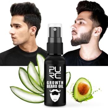 Thicker Beard Growth Oil Anti Hair Loss Men's Beard Hair Extension Grow Hair Essence Spray Fuller Hair Care 30ml 1