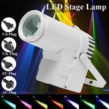 30W RGBW LED Stage Lighting Pinspot Beam Spotlight Professional DJ DISCO Party KTV Backlight Stage Light 360-degree lighting cheap becornce DMX Stage Light Professional Stage DJ AC100-240V AU EU US UK plug