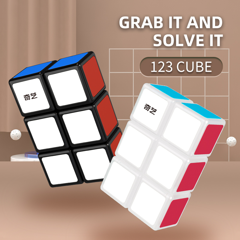 Qiyi 2x2x3 2x3x3 Magic Cube 223 Cube 332 Black 233 123 Cubo Magico1x2x3 Speed Puzzle Cubo Kids Educational Funny Toys For Boys