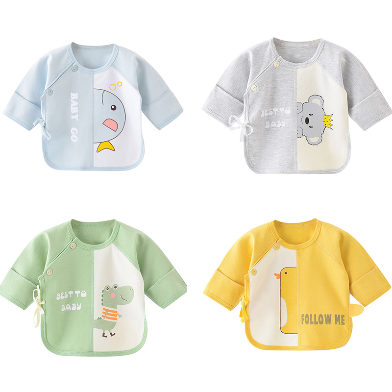Newborn Baby Clothes Baby Boys Girls Underwear T Shirts Long Sleeves 100% Cotton Baby T Shirt Clothing Toddler Girls Underwear