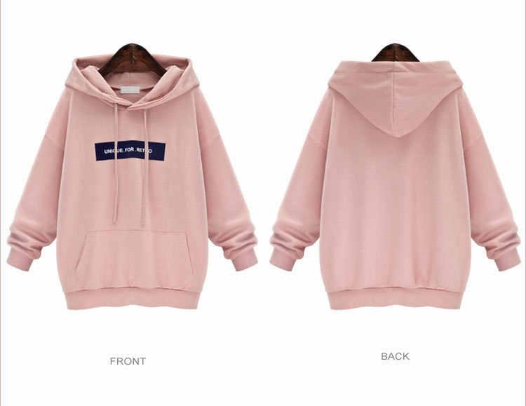 블랙 박스 인쇄 2020 새로운 디자인 핫 세일 후드 티 스웨터 여성 캐주얼 카와이 하라주쿠 스웨트 걸스 유럽 탑 한국