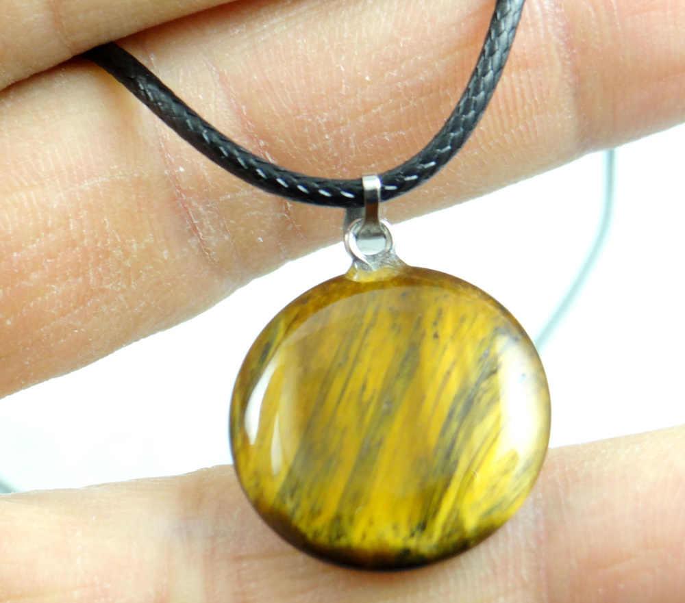 Pierre naturelle Quartz cristal Turquoises oeil de tigre opale lapis pendentif en forme de coeur pour bijoux à bricoler soi-même faisant des accessoires de collier