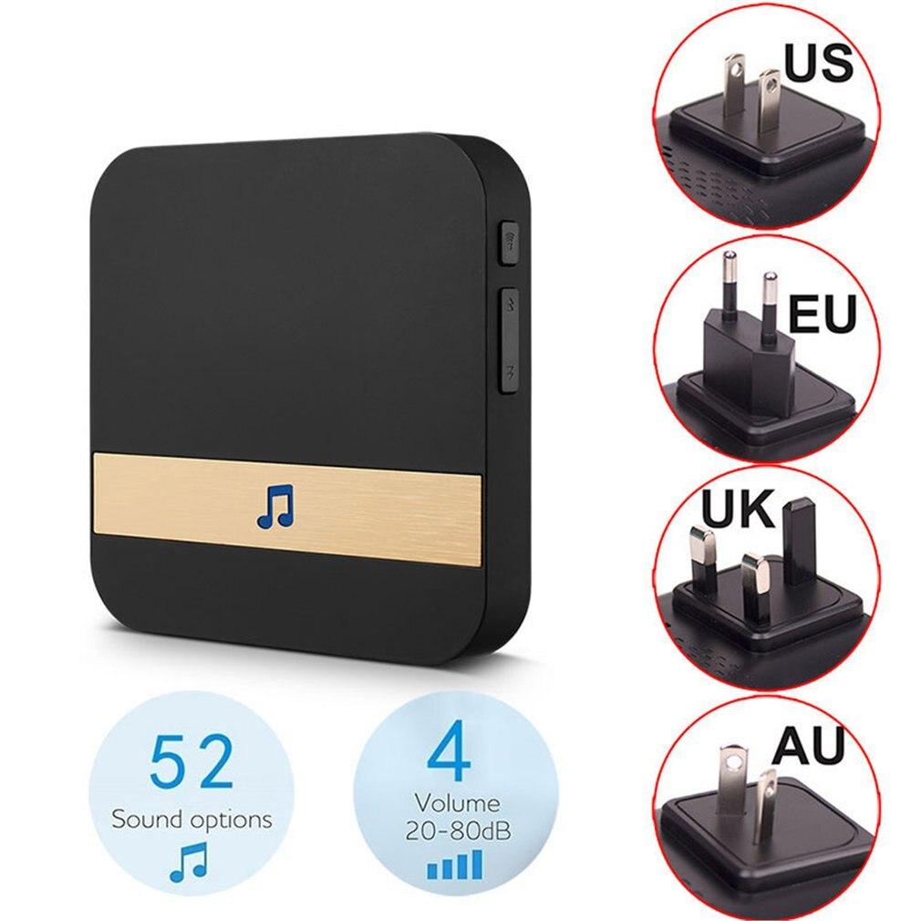 WI-FI Video Door  Bell EU US UK AU Plug Phone Indoor Door Bell WIFI Doorbell For TY-1080P-L2 Wireless Security Camera