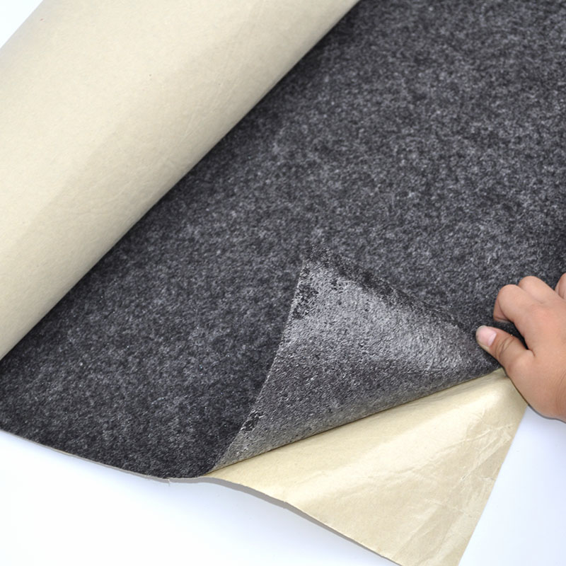 Subwoofer Speaker Sound-absorbing Cotton Self-adhesive Felt Flannel For Stage Car Subwoofer Speaker Indoor KTV Room Diy Newest