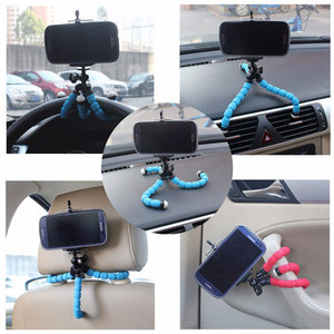 Image 5 - Mini Flexible Sponge Octopus Tripod For iPhone Xiaomi Huawei Smartphone Tripod for Gopro Camera Accessory With Phone Clip Holder