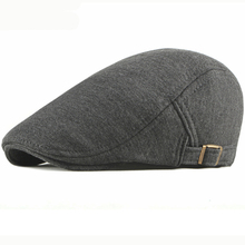 HT2662 Berets Spring Autumn Cotton Cap for Men Women Vintage Ivy Newsboy Flat Cap Adjustable Beret Cap Artist Painter Beret Hats цена и фото