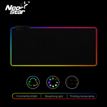 RGB LED Mouse Pad Large mouse pad USB Wired Lighting Gaming Gamer Mousepad Keyboard Non-slip Colorful Luminous For PC Mice Mat e 3lue emp013 gaming mouse pad gamer rubber pad mousepad rgb light lighting mice mousepad for computer pc notebook loptop page 10