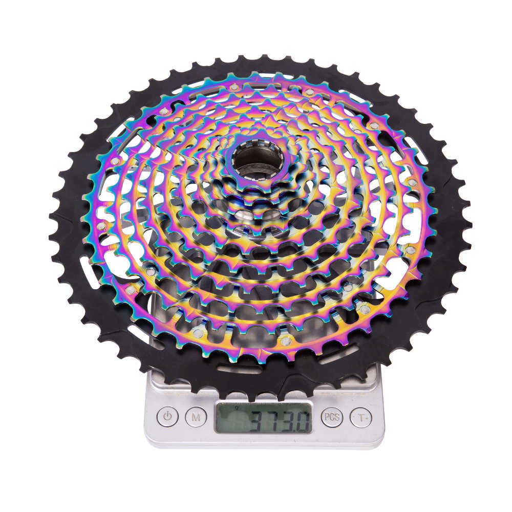 Ztto ultimate mtb 11 velocidade 9-50 t cassete ult 11s xd cassete arco-íris aço ultraleve 11v cassete 9-50 t k7 roda livre roda dentada