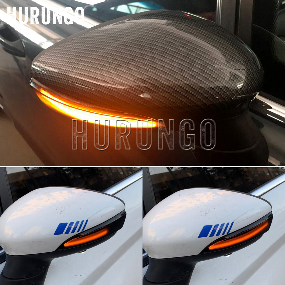 For Ford Fiesta Mk7 2008-2017 For Ford B-Max 2012-2017 Dynamic Blinker LED Turn Signal Lights Side Mirror Indicator