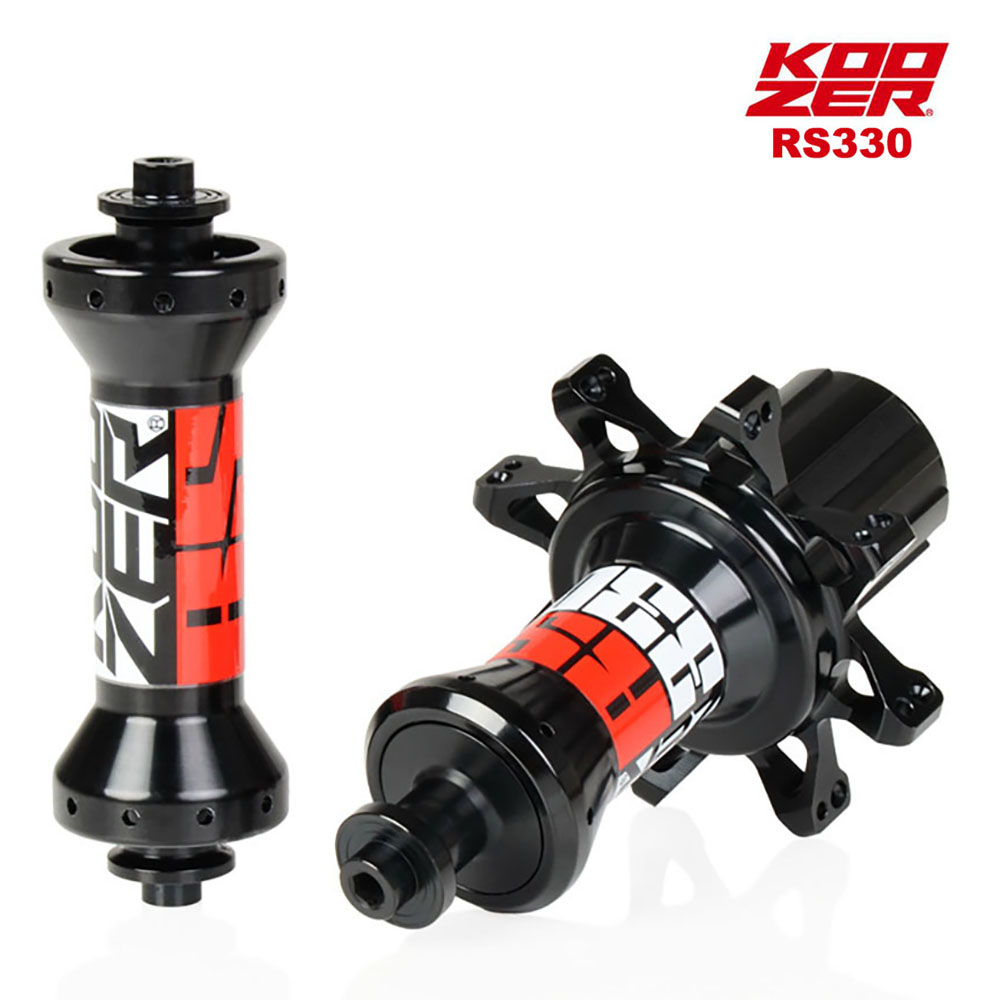 koozer MTB road bike front rear hub 20h 24h 2 4 bearing micro spline disc boost hub Quick release straight pull bike hub RS330 image