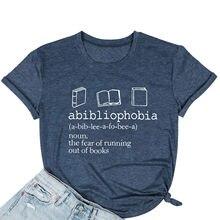 Camiseta informal con estampado de letras para mujer, Blusa de manga corta con cuello redondo, camisetas tipo túnica para mujer