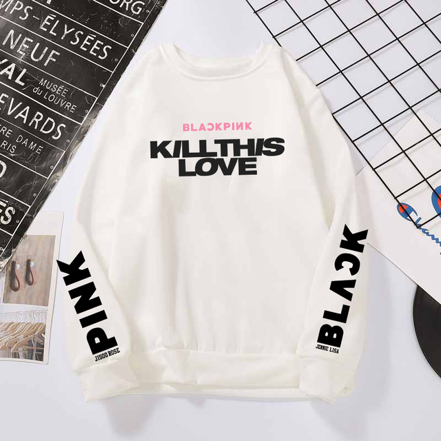 BLACKPINK THEMED SWEATSHIRT (6 VARIAN)