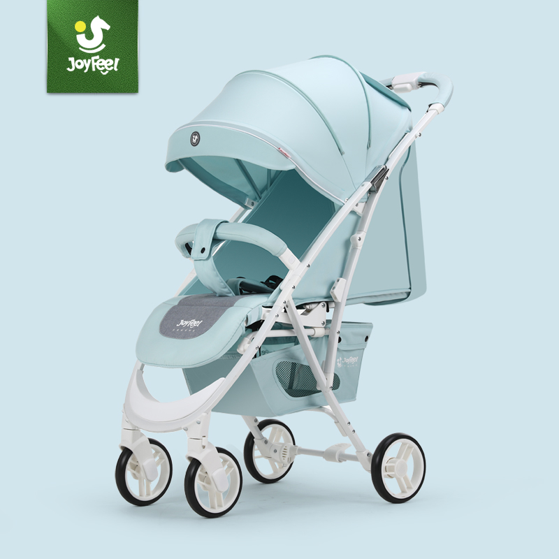 Joyfeel Luxury Ultra-light Stroller Can Sit and Lie  Folding Portable Height Landscape Hand-propelled Umbrella Cart Strollers