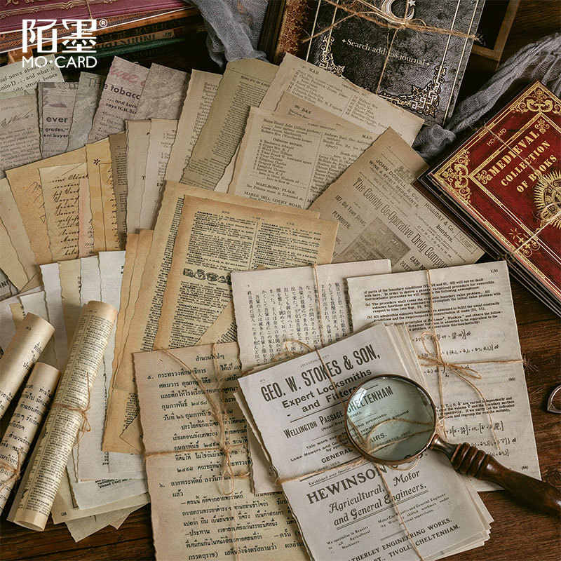 Vintage List Pad Sheets for Planners Listers Forgetters