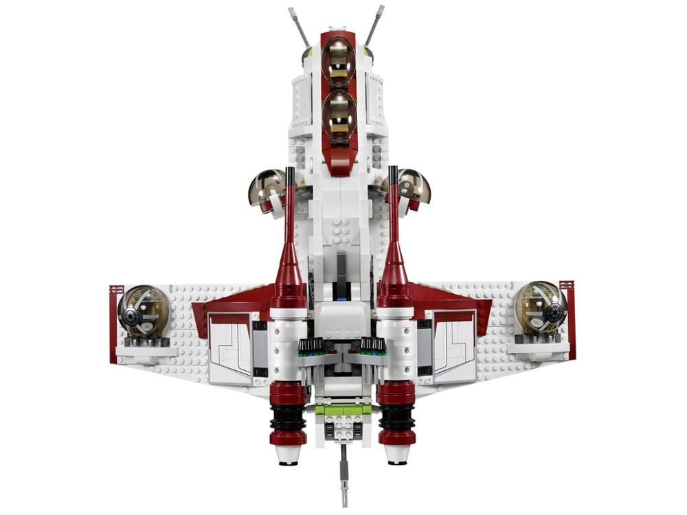 <font><b>05041</b></font> Star Wars on Toy Republic Gunship Set StarWars Compatible with Lepining 75021 Children's Ship Educational Blocks Toys image