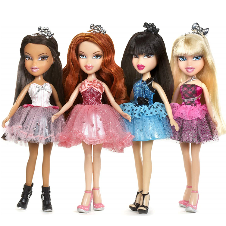 Original Boxed Bratz Doll With Beautiful Prom Skirt  Can Not Shine Dress Up Best Gift For Girl