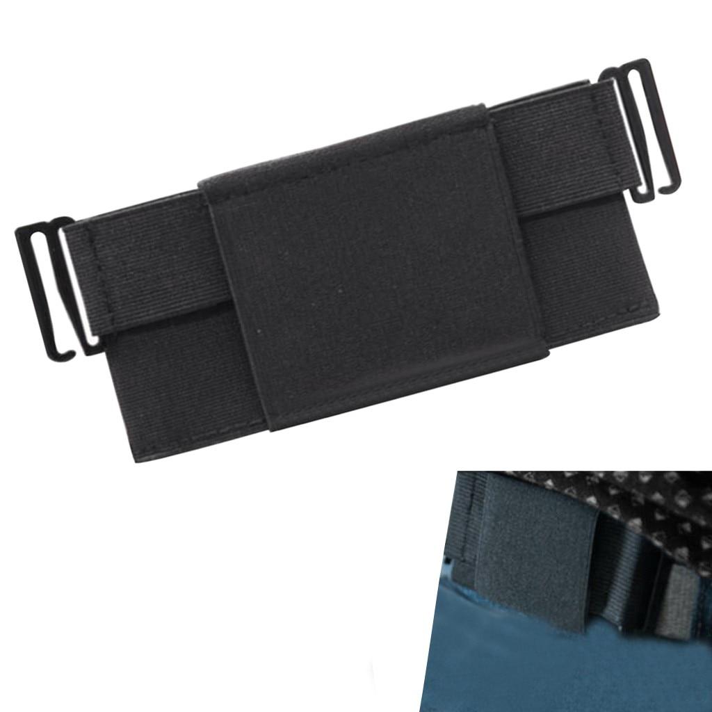Unisex Portable Pouch Card Storage Belt Chest Bag Minimalist Invisible Wallet Organizer Holder Women Men Waist Bag Fanny Pack