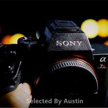 Aparat skóry naklejka folia owijająca Protector dla Sony A7R2 A7RII A7S2 A7M2 A7SII A7II Alpha 7II Anti scratch kalkomania