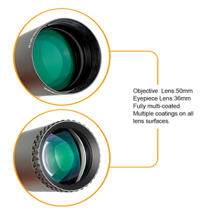 Image 4 - ohhunt LR 7.25 40X50 SFIR Hunting Scope Glass Etched Reticle Red Illumination Side Parallax Turret Lock Reset Riflescope