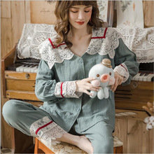 Summer Cotton Maternity Nursing Sleepwear Spring Breastfeeding Pajamas Sets Pregnancy Sleep
