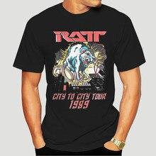 Ratt 80s banda rat no estúdio controlador de música adulto t camisa metal pesado Music-1105D