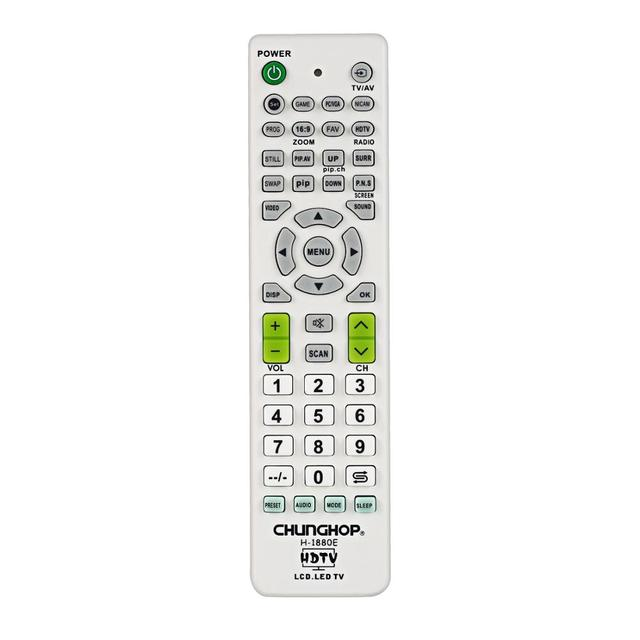 Universal Remote Control For Lg LCD LED HDTV 3DTV TV Television Sets for Samsung For Skywort for Sony CHUNGHOP H 1880E